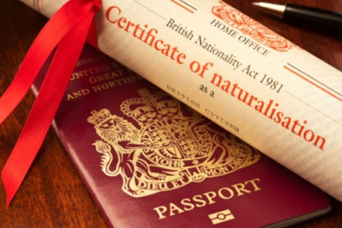 Naturalisation as a British Overseas Territories C...